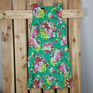 Talbots Floral Shift Dress NWOT